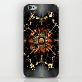 Blood Moon Lotus Mandala iPhone Skin