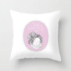 Sweet Baby Jane Throw Pillow