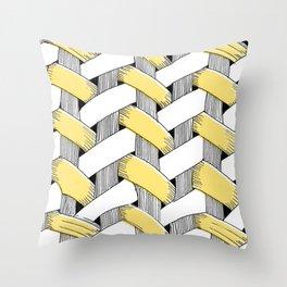 Basket Weave Throw Pillow