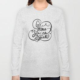 GO HOME Long Sleeve T-shirt
