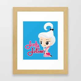 Judy Jetson Pin up style Framed Art Print