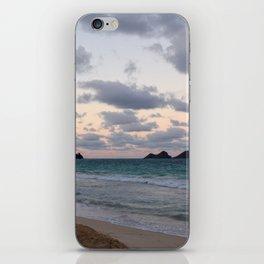Beachside Mornings iPhone Skin