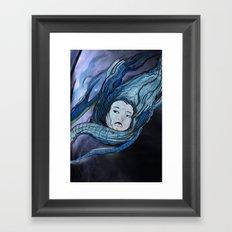 Desert In Framed Art Print