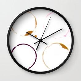 Drinks Rings Wall Clock