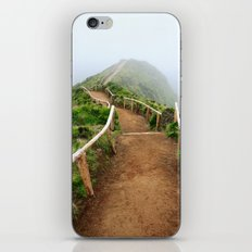 Empty walking trail iPhone & iPod Skin