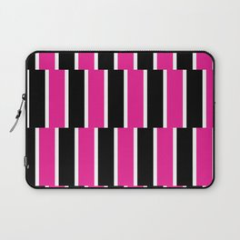 Shifted Illusions - Black and Pink Laptop Sleeve