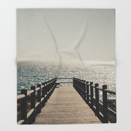 Sunset Walkway Throw Blanket