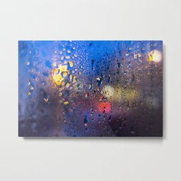 Condensation 04 - Cafe Metal Print
