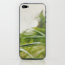 JUST GREEN. iPhone Skin