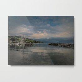 Swiss Dock Metal Print