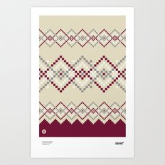 Jacquard 04 Art Print