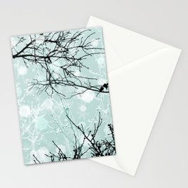 Winter Branches - Graphic Stationery Cards