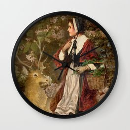 Lost in the Dark Forest Wall Clock