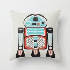 Silver Tenderfoot - Alliance Is Rebellion - R2-D2, wars, star Throw Pillow