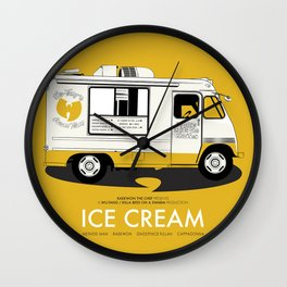 Raekwon of Wu-Tang - Ice Cream Wall Clock