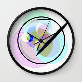 Abstract 2017 042 Wall Clock