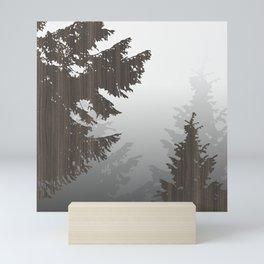 Norway Black Mini Art Print
