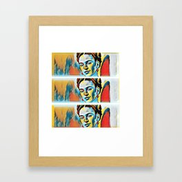 Frida Khalo 3.0 Framed Art Print