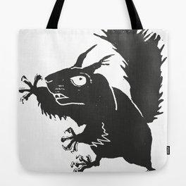 Manic Squirrel Tote Bag