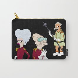 Nimbus Crew: Mom, Prof. Farnsworth and Scruffy Carry-All Pouch
