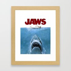 Jaws Framed Art Print