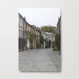 Edinburgh street Metal Print