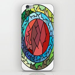 circle tumbler iPhone Skin