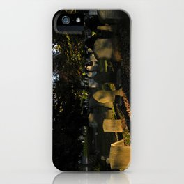 Headstones in a Fall Sunset iPhone Case