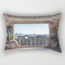 Abandoned Stockyard Rectangular Pillow