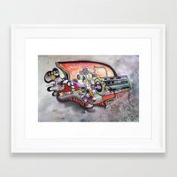 technology Framed Art Prints featuring Technology System1 by infloence