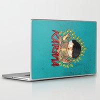 karma Laptop & iPad Skins featuring Karma by Seez