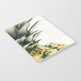 Pineapple Close-Up Notebook
