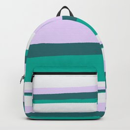 Hermosa, sunset stripes Backpack