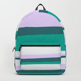 Hermosa, sunset stripes Backpack