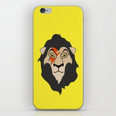 The Bowie King iPhone & iPod Skin