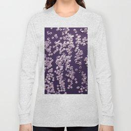 Violet background Long Sleeve T-shirt