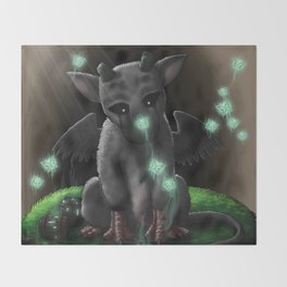 Trico (トリコ, Toriko) - The Last Guardian Throw Blanket