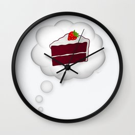 Dream Cake Wall Clock