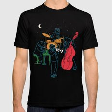 Animals plays Jazz Black Mens Fitted Tee MEDIUM