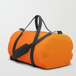 Orange Sunset Duffle Bag