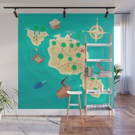 Tahiti Treasure Wall Mural