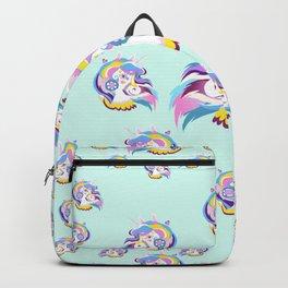 Magical Rainbow Unicorn pattern 04 Backpack