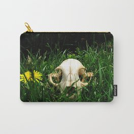 Bob Cat Skull Carry-All Pouch
