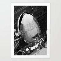 planes Art Prints featuring Planes by Janelle Jex