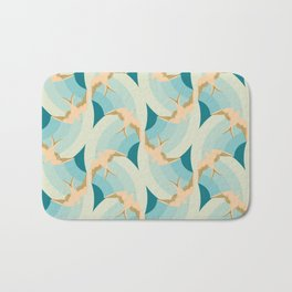 flying birds Bath Mat