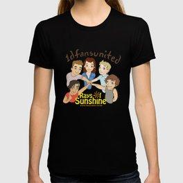 1D fans united to raise money for Rays of Sunshine! T-shirt