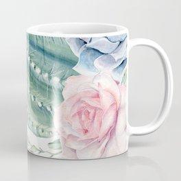 Cactus Rose Succulents Garden Coffee Mug