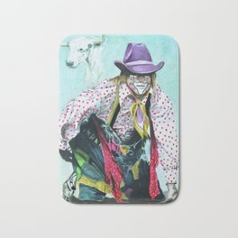 """THE BULLFIGHTER"" Bath Mat"