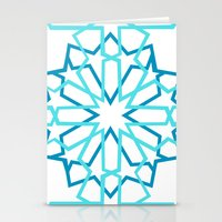 arabic Stationery Cards featuring Arabic Pattern by Soso Creation
