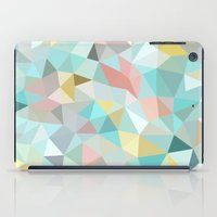pastel iPad Cases featuring Pastel Tris by Beth Thompson